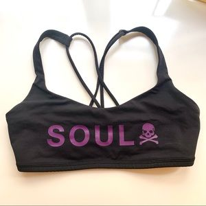 SoulCycle x Lululemon   Sports Bra Unlined